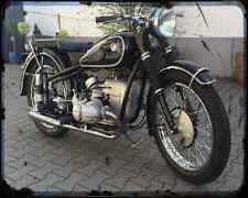 BMW R 68 7 A4 Foto Impresión moto antigua añejada De