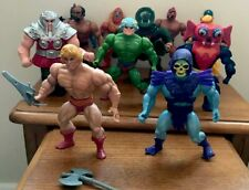 Vintage He Man & Masters Of The Universe Action Figure Bundle. Mattel 1980's. .