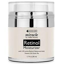 Complexes Radha Beauty Retinol Moisturizer Cream For Face And Eye Area 1.7 Oz