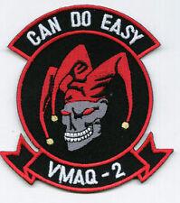 """VMAQ-2 USMC PATCH """"CAN DO EASY"""" FULL COLOR:GA15-1"""