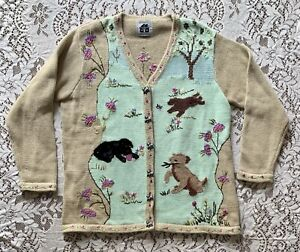 Storybook Knits Cardigan Sweater Size 1X HSN