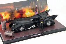 DC Batman Automobilia Collection #1 Batmobile Moviecar Batman 1989 schwarz