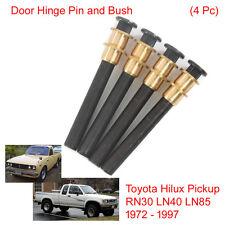 Set 4 Doors Hinge Pin Bush For Toyota Hilux Pickup RN30 LN40 LN85 1972 - 1997