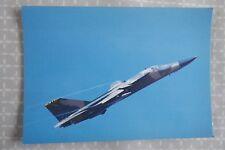 General Dynamics F-111E Upper Heyford, RAF Valley, aircraft postcard