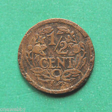 1917 Netherlands 1/2 Cent SNo37317