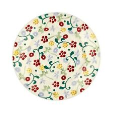 EMMA BRIDGEWATER  SPRING FLORAL SPONGEWARE NEW 8.5 INCH PLATE SIGNED DELIVERY