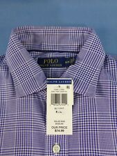 New Men's Polo Ralph Lauren LS Med Cotton Performance Polo Shirt