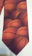 "Ralph Marlin ""Just Balls"" Basketball 1995 Tie"