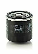 Oil Filter W67/1 Mann 15400PJ7005 15400PJ7015 15400PFB004 15400PFB014 B6YL14302