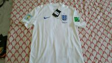 camiseta Inglaterra Shirt England World Cup Brasil 2014 Trikot size M Maglia M