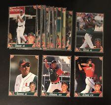 2008 Miami Hurricanes Baseball SGA Set Yonder Alonso Jim Morris