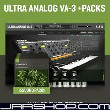 AAS Applied Acoustics Systems Ultra Analog VA-3 + Packs Bundle eDelivery JRR Sho