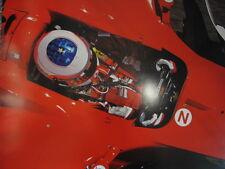Poster Marlboro Ferrari F2004 2004 #2 Rubens Barrichello (BRA) Imola extra dik