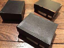 TAXIPHOTE RICHARD PANIER STEREO BOITE CLASSEUR 45x107 PLAQUE VERRE STEREOSCOPE