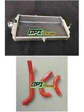 aluminum radiator+ HOSE GPI FOR Honda RS 125 RS125 1987-1994 1988 1989 87