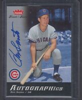 2006 Fleer Greats of the Game Ron Santo Autographics Signature Card SP Cubs HOF