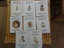 Collection 8 Beatrix Potter  The Original Peter Rabbit Books H/B