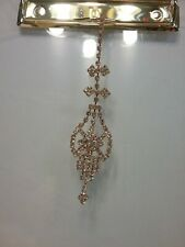 Indian Maang Tikka Jewelry Wedding Bollywood Gold Plated Forehead Bridal Jewelry
