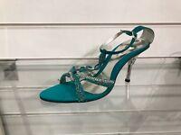 Ladies Asian Indian Pakistani Shoes, Wedding Bling Crystal Wedding Sandals Heels