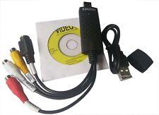 Easycap USB2.0 Audio Video VHS to TV Tuner DVD Converter Capture Card Adapter AU