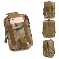 Military Tactical Waist Bag Backpack Oxford Sport Bag for Camping Traveling