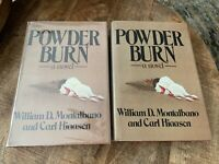 Carl Hiaasen~Powder Burn~RARE 1st Edition 1st Printing~~~2 COPIES in LOT