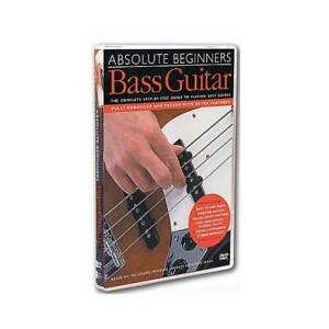 Absolute Beginners Bass Guitar DVD, The Complete Step-by-Step Guide to Playin...