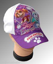 Paw Patrol Skye cappello con visiera Estivo Bambina Baseball  bianco  tg 54