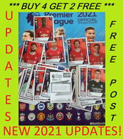 ⭐2021 TRANSFER UPDATES⭐ PANINI PREMIER LEAGUE STICKERS BUY 4 GET 2 FREE UPDATED!