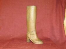 Unusual Bronze or Copper Boot Sculpture or Mold Steampunk