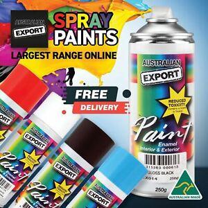 Australian Export 250gm Aerosol Spray Paint Cans FREE SHIP Bulk Buys Large Range