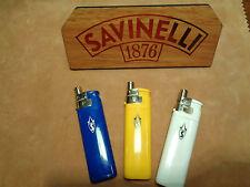 ACCENDINO LIGHTER PIPE/CIGARETTE BY SAVINELLI  3 PCS.COD. A800 077-16-00