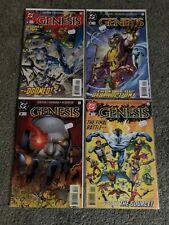New ListingGenesis Complete Set/Full Run Comic Lot 1,2,3,4 Jla Darkseid Dc Versio=Thanos