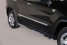 TUBES MARCHE PIEDS OVALE INOX DESIGN JEEP GRAND CHEROKEE 2011+