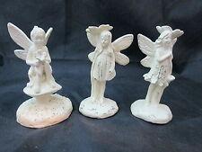 The Spring Shop Fairy Garden Miniature Cream 3 Fairy Statue