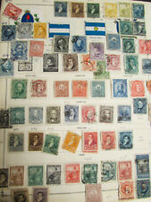 South America Stamps Antique Collection on Scott Pages
