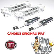 2 CANDELE ORIGINALI FIAT PANDA 500 500L 0.9  TWINAIR 55242187 NGK ILKR9G8