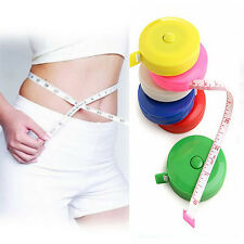 """1Pc 1.5M 60"""" Mini Measure Tape Line Ruler Soft Retractable Sewing Tailor New"""