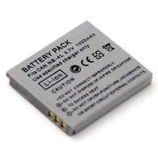 Battery for Canon PowerShot SD30 SD40 SD200 SD300 SD400 SD430 SD450 DIGITAL ELPH