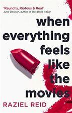 Cuando todo se siente como el cine, Reid, Raziel, nueva condición, Libro