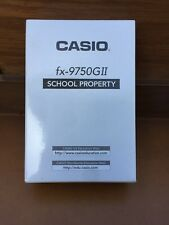 Casio fx-9750GII Graphing Calculator, Yellow RC