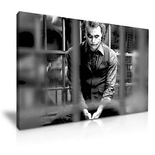 JOKER dietro le sbarre BATMAN MOVIE tela WALL ART PICTURE PRINT 76x50cm/30x20""