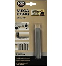 K2 MEGA BOND STEEL PUTTY STRONG METAL Plasticin 60g THE BEST SEALANT 15min Easy