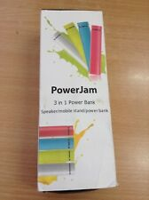 POWERBANK SPEAKER STAND BOOST NEW POWER JAM 3 IN 1 4000 mAh  #9420