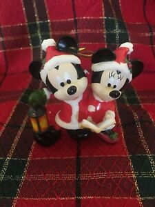 Disney Grolier Early Moments Mickey & Minnie Mouse Porcelain 2018