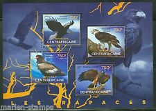 CENTRAL AFRICA  2014 BIRDS OF PREY SHEET II    MINT NH