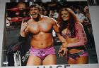 Mike Bennett & Maria Kanellis Signed 16x20 Photo PSA/DNA COA ROH WWE NJPW Auto'd
