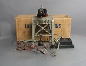 Lionel 282 Vintage O Bucyrus Erie Remote Control Gantry Crane/Box