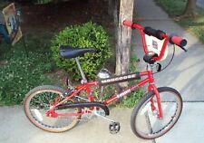 1988 OLD SCHOOL MONGOOSE M1 BMX BIKE VINTAGE 1980's BICYCLE 88