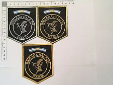 3 ORIGINAL POLICE HALCON SWAT OFFICER PATCHES COLLECTION PATCH ARGENTINA 80s 90s